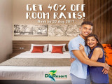 Enjoy 40% Off Room Stay in D'Resort @ Downtown East