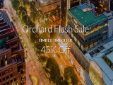 Orchard Flash Sale with 45% Savings for your Stay via Far East Hospitality