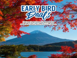 Business Class Early Bird Deals to Selected Japan Destinations with Korean Air