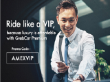 Enjoy S$7 Savings Daily on GrabCar Premium with American Express Card