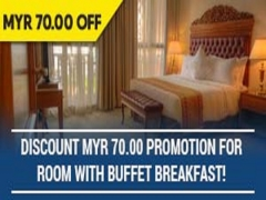 Discount MYR70 Promotion for Room with Buffet Breakfast in Royale Chulan Kuala Lumpur