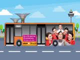 Enjoy Free Bus Transfer to/from Johor and Singapore with Jetstar