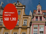 Fly to Europe with SWISS Airlines from SGD1,263