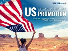 Economy Class Special to America with Korean Air from SGD1,241