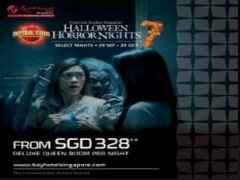 Halloween Horror Nights 7 Special Offer in Bay Hotel Singapore