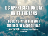 DC Appreciation Day 2017 Special Offer in D'Resort@Downtown East
