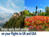 Early Bird Savings on Emirates' Flights to UK and USA with UOB Cards