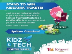 Stand to WIN KidZania Tickets this September!