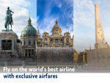 Fly on the World with Qatar Airways and UOB Card from SGD920