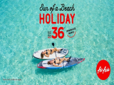 Book your Next Holiday with Flights on AirAsia from SGD36