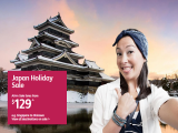 Japan Holiday Sale from SGD129 with Jetstar