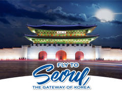 Fly to Seoul from SGD599 with Korean Air