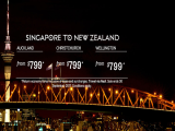 Singapore to New Zealand Flights with Fiji Airways from SGD799