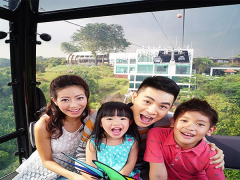 Enjoy 5 Rides FREE in Singapore Cable Car with your Fiber Licence
