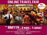 Online Travel Fair in KidZania Kuala Lumpur from RM119