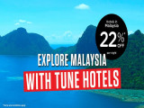 Explore Malaysia and Stay in Tune Hotels at 22% Off per Night