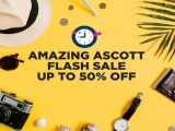 Amazing Ascott Flash Sale is Back Again with Up to 50% Savings
