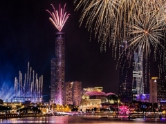 2018 New Year Celebration in Fairmont Hotel Singapore