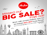 Get 20% Off Flight Fares to your Favourite Destinations with AirAsia