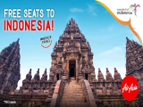 FREE SEATS to Indonesia for your Next Travel Getaway with AirAsia