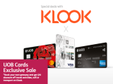 UOB Cards Exclusive Sale on Jetstar and KLOOK