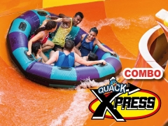 Quacktastic Tuesday + Quack Xpress COMBO in Sunway Lagoon