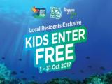 Kids Enter FREE* in Wildlife Reserves Singapore this October