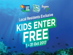 Kids Enter FREE* in Wildlife Reserves Singapore this October