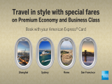Travel in Style with Singapore Airlines Offers Exclusive for AMEX Cardholders