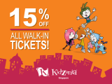 Celebrate Children's Day in KidZania Singapore at 15% Off Walk-in Tickets!