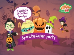 Special Offer for Halloween Spooktacular Party in Downtown East Exclusive for NTUC Cardholders