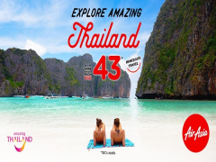 Explore Amazing Thailand with Flights on AirAsia from SGD43