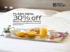30% Off Best Available Rates in Bay Hotel Singapore