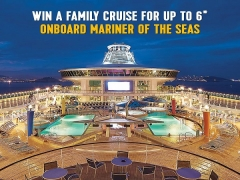 WIN Family Cruise for 6 with Royal Caribbean Cruises