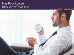 Stay Four Longer and Save 25% in Carlton City Singapore