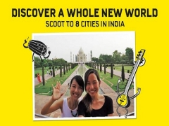 Discover a Whole New World as you Scoot to India