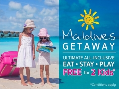 Maldives Getaway with Centara Hotels and Resorts with FREE Stay and Play for Kids