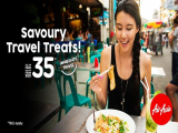Savoury Travel Treats from SGD35 with AirAsia