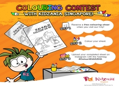 Finish your Colours and WIN KidZania Event Tickets this December