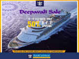 Deepavali Sale with 50% Off Special in Royal Caribbean Cruises