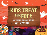 Kids Treat For Free this Halloween in Sunway Lagoon