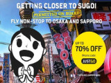Explore Hokkaido via Sapporo with Up to 70% Off Flights with Scoot