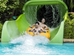 Mastercard® Exclusive: Adventure Cove Waterpark Adult One-Day Tickets + Meal Voucher at S$32 (Min. 2 to go)