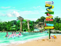 One Day Adventure Cove Waterpark Ticket at SGD32 with UOB Card