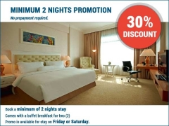 Minimum 2 Nights Promo with 30% Savings in Royale Chulan Damansara