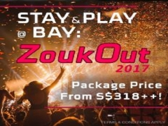 Zoukout 2017 Experience with Stay and Play Offer in Bay Hotel Singapore