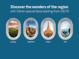 Enjoy Special Fares on SilkAir with American Express Card from SGD179