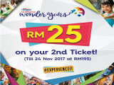 RM25 On Your 2nd Ticket in Sunway Lagoon