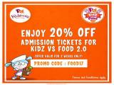 KidZ vs Food 2.0 Early Bird Promotion in KidZania Kuala Lumpur