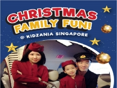 Christmas Family Fun in KidZania Singapore | Early Birds Bundle Rate at SGD72